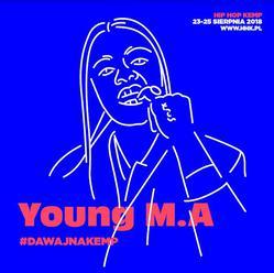 Young M.A zasila line-up Hip Hop Kemp 2018