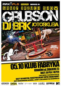 Koncert Grubsona i BRK w Krakowie