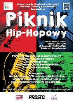 22.07 Warszawa: Piknik Hip-Hopowy