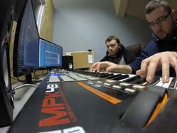 JazBrothers - producenci muzyczni. Od lewej - Marcin Jaz i Mateusz Jaz.