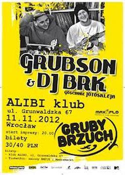 Grubson & BRK - Gruby Brzuch we Wrocławiu