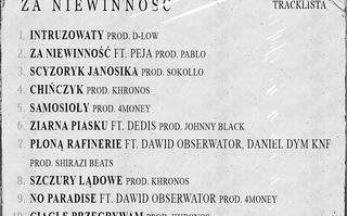Peja, Dedis, Dawid Obserwator, MK47 i Daniel Dym Knf na albumie Intruza