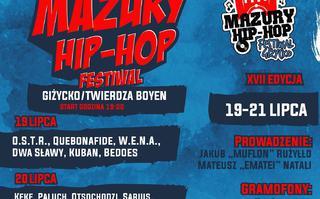 Rozpiska godzinowa Mazury Hip-Hop Festiwal 2018