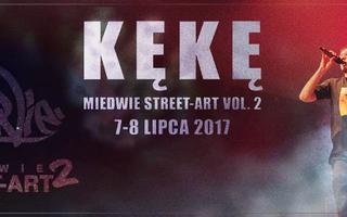 Kękę oraz Dwa Sławy zagrają na Miedwie Street Art Festival vol. 2